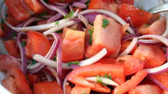 Салат из помидор от Рэйчел Рэй