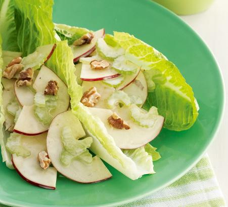 Салат с орехами