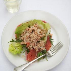 Крабовый салат от Джейми Оливера