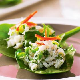 Фото крабового салата