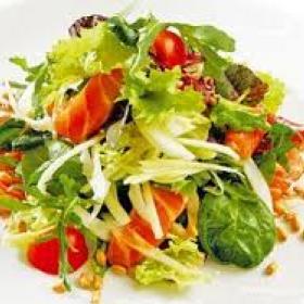 Рецепт крабового салата без майонеза