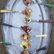 пати комбо - брезаола с горчицей и салат из капусты