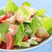 Фото салата с лососем