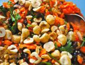 Салат с фундуком и морковью Рэйчел
